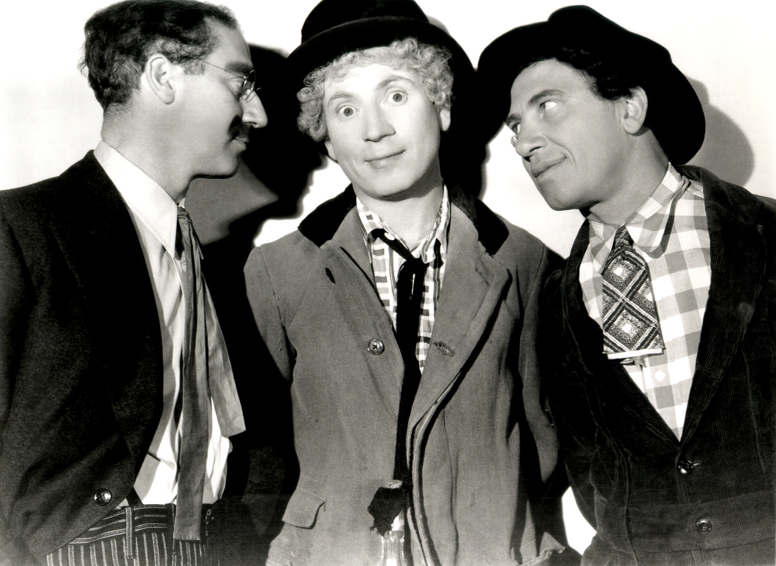Picture of Groucho, Harpo, and Chico Marx from A Night at the Opera (MGM / 1935)
